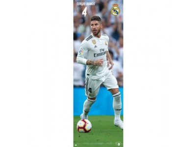 Real Madrid dør plakat - Door Poster Ramos 318