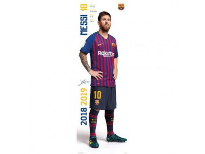 FC Barcelona dørplakat - Door Poster Messi 312