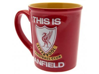 Liverpool krus - LFC Embossed Jumbo Mug