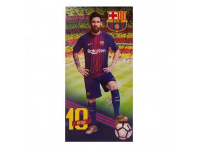 FC Barcelona håndklæde - Towel Messi