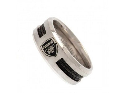 Arsenal ring - AFC Black Inlay Ring - Large CR