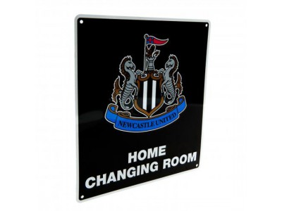 Newcastle United skilt - NUFC Home Changing Room Sign