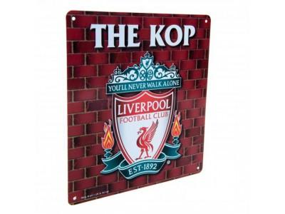 Liverpool FC skilt - The Kop Sign