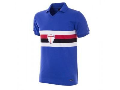 Sampdoria trøje - 1981 - 82 Short Sleeve Retro Football Shirt