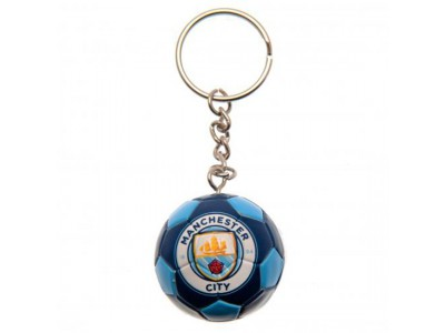 Manchester City nøglering - Football Keyring