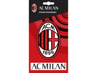 AC Milan klistermærke - ACM Crest Sticker