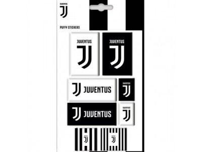 Juventus klistermærker - Juve Bubble Sticker Set