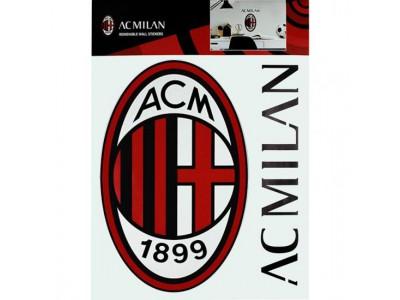 AC Milan klistermærke - Wall Sticker A4