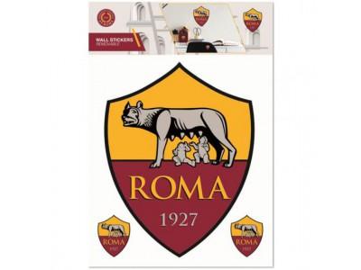 AS Roma væg klistermærke - Wall Sticker A4
