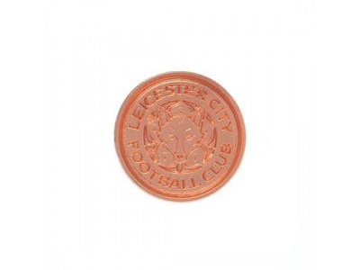 Leicester City badge - Rose Gold Plated Badge