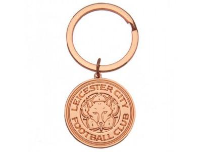 Leicester City nøglering - Rose Gold Plated Keyring