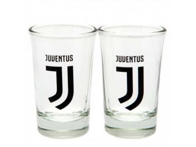 Juventus shot glas - 2 Pack Shot Glass Set