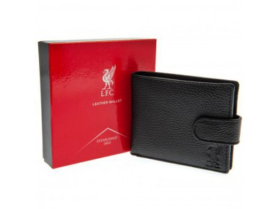 Liverpool pung - LFC Black Leather Wallet