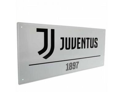 Juventus gade skilt - Juve FC Street Sign