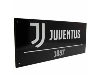 Juventus gade skilt - Juve FC Street Sign BK