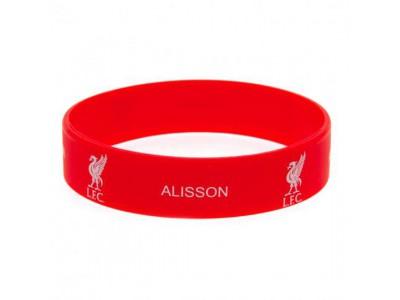 Liverpool armbånd - LFC Silicone Wristband Alisson