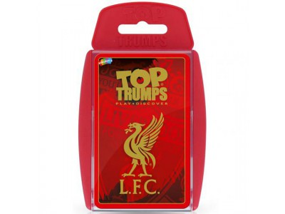 Liverpool kort - LFC Top Trumps