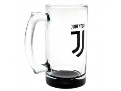 Juventus ølkrus - Juve Stein Glass Tankard