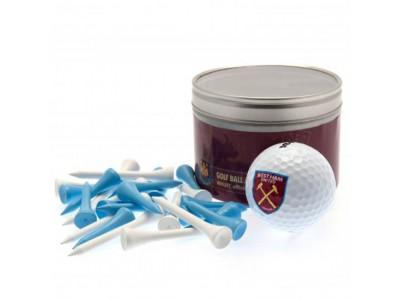 West Ham United golf bold - WHFC Ball & Tee Set