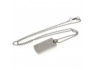 Aston Villa FC Engraved Dog Tag & Chain