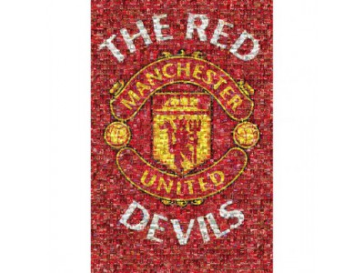 Manchester United plakat - MUFC Poster Mosaic 21