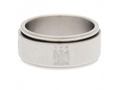 Manchester City ring - MCFC Spinner Ring - Large EC