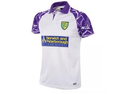 Norwich FC 1992 - 94 ude retro fodbold trøje