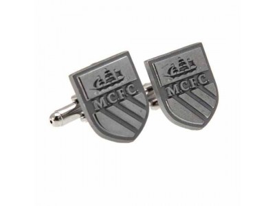 Manchester City manchetknapper - Cufflinks Chrome