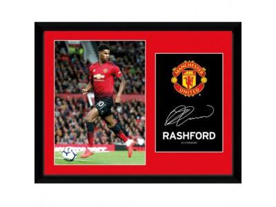 Manchester United billede - MUFC Picture Rashford 16 x 12