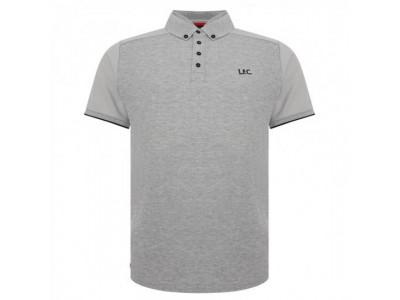 Liverpool polo trøje - LFC Waffle Polo Shirt Mens Grey - L