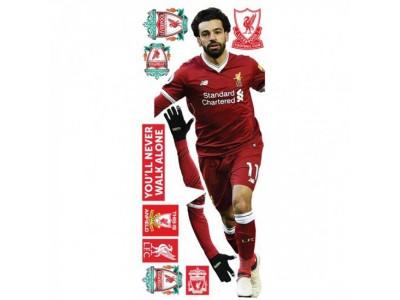 Liverpool vægkunst - LFC Wall Art Salah
