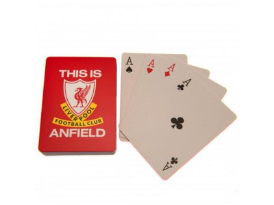 Liverpool spillekort - LFC Playing Cards TIA