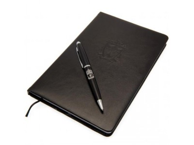 Liverpool notesbog sæt - LFC Notebook & Pen Set