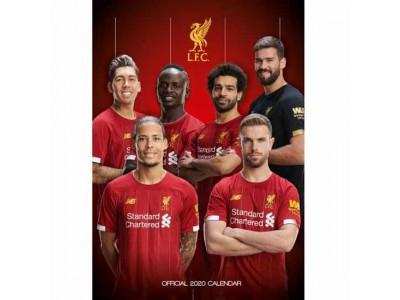 Liverpool kalender - LFC Calendar 2020