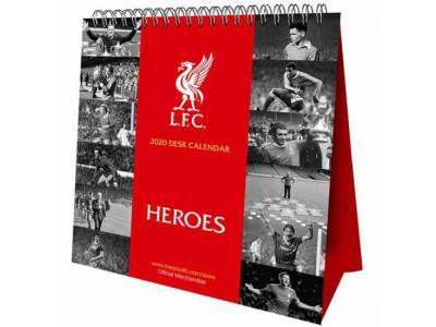 Liverpool kalender - Liverpool FC Desktop Calendar 2020