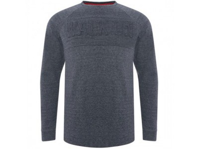 Liverpool sweater - LFC Walk On Crew Mens Navy Marl - S