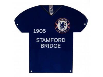 Chelsea skilt - CFC Metal Shirt Sign