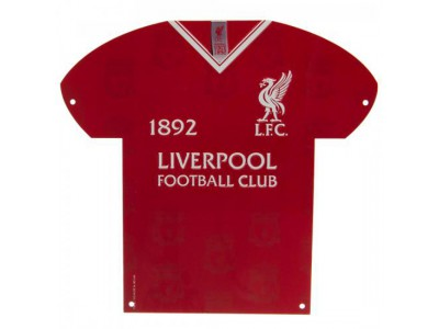 Liverpool skilt - LFC Metal Shirt Sign LB