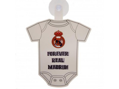 Real Madrid skilt - RMFC Baby On Board Sign
