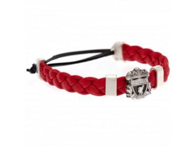 Liverpool armbånd - LFC PU Slider Bracelet