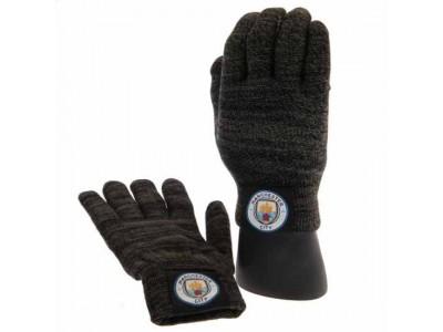 Manchester City handsker - Luxury Touchscreen Gloves - voksen