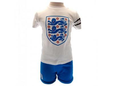 England FA sæt - T Shirt & Short Set 9/12 Months