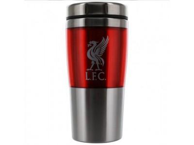 Liverpool to go krus - LFC Metal Travel Mug