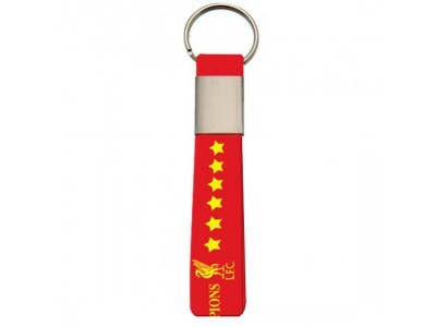 Liverpool nøglering - LFC Champions Of Europe Silicone Keyring