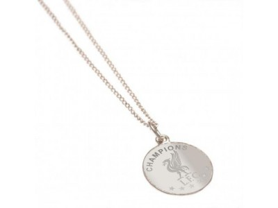 Liverpool kæde - Champions Of Europe Sterling Silver Pendant & Chain