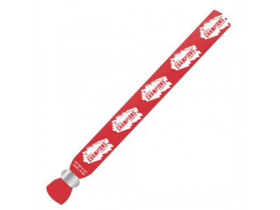 Liverpool armbånd - LFC Champions Of Europe Festival Wristband