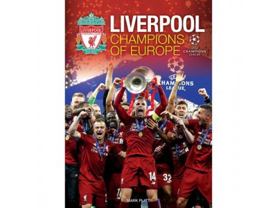 Liverpool kalender - LFC Champions of Europe Annual