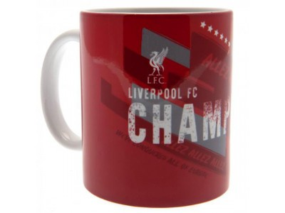 Liverpool krus - Champions Of Europe Mug