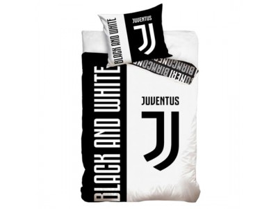 Juventus sengetøj - Juve Single Duvet Set BW