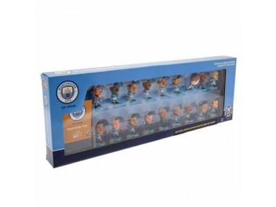 Manchester City 18 spillere - MCFC SoccerStarz 18 Player Team Pack